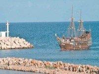 Морская прогулка на необитаемый остров Куриат