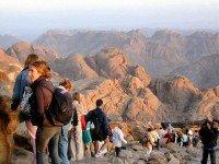 Тропа на гору Моисея