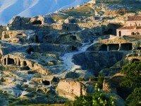 Пейзаж пещерного города
