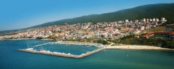 Панорама города с моря