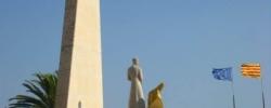 Памятник королю Хайме I на бульваре Жауме
