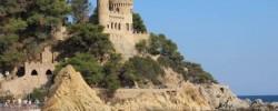 Замок на пляже