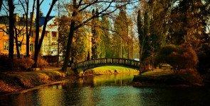 Осень в ботаническом саду Каунаса