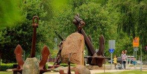 Приморский парк в Венстпилсе