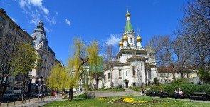 Русская посольская церковь в Софии