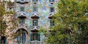 Фасад Casa Batllo