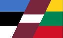Фрагменты флагов Прибалтики
