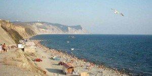 Один из пляжей Керчи