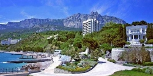 Курортный городок Кореиз