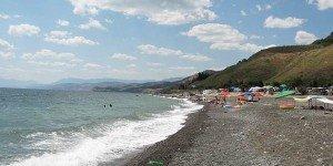 Пляжи поселка Морское