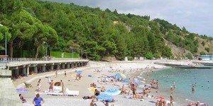 Пляжи в посёлке Береговое