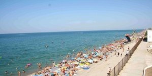 Пляжная территория Николаевки