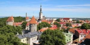 Панорама старого Таллинна