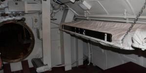 Подводная лодка в морском музее Таллинна