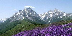 Горные пейзажи Черногории