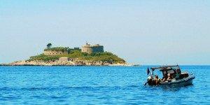 Остров-крепость Мамула
