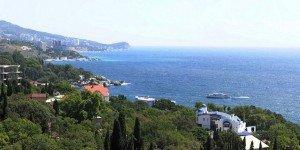 Вид на побережье