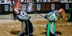 Рыцарский турнир в замке Сан-Мигель