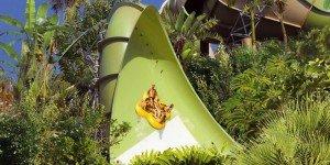 """Аттракционы в аквапарке """"Siam Park"""" на Тенерифе"""