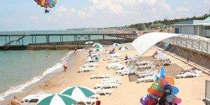 Пляж в Песчаом