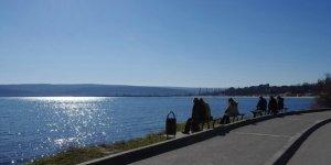 Набережная варненского озера