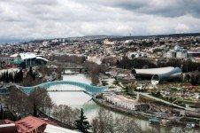 Тбилиси ранней весной