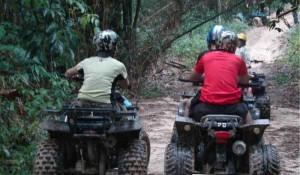 Катание на квадроциклах по острову Ко Чанг