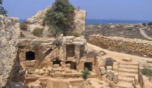 Древние захоронения в Пафосе