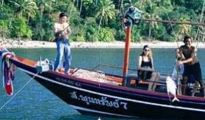 Морская рыбалка на Самуи