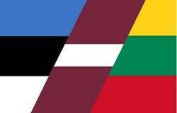 Фрагменты флагов Прибалтийских стран