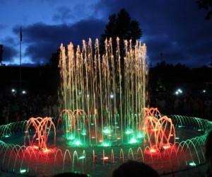 Поющий фонтан Паланги