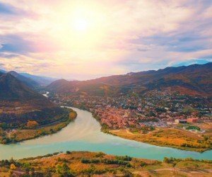 Пейзажи древней солицы Грузии