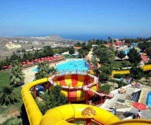 Аквапарк Waterland в Греции