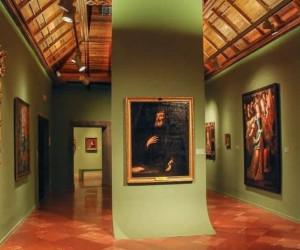 Экспозиция внутри музея Колумба
