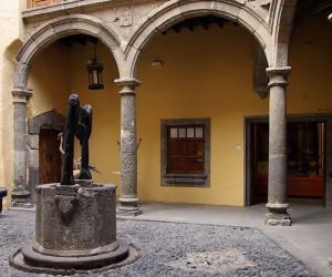 Дворик музея