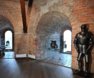 Экспозиция в музее замка