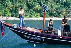 Морская рыбалка на острове Самуи