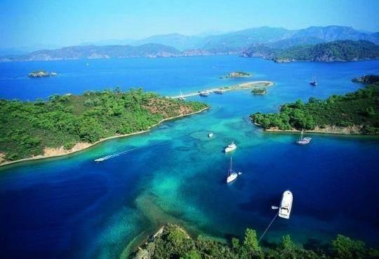 12 островов вблизи Фетхие