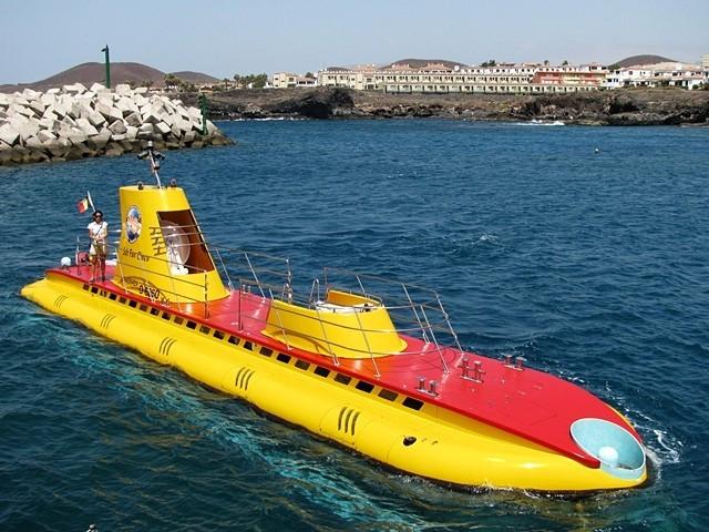 Подводное сафари на субмарине