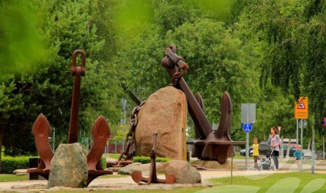 Приморский парк в Вентспилсе