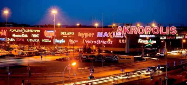 Торговый центр «Акрополис» в Вильнюсе