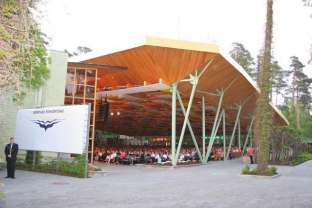 Концертный зал Дзинтари
