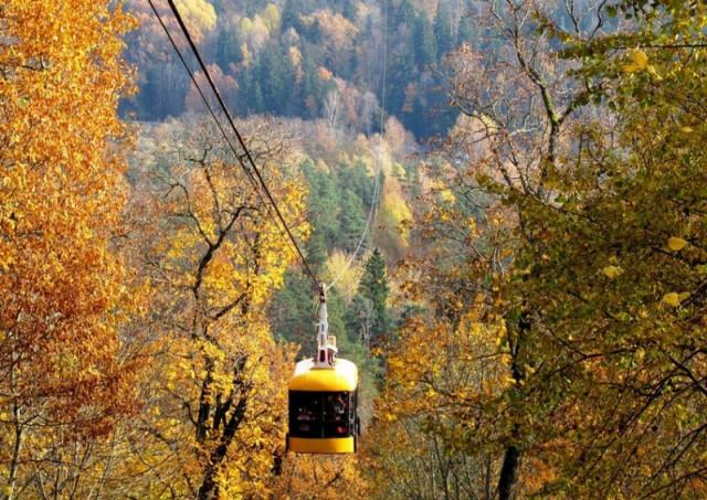 Канатная дорога в Сигулде