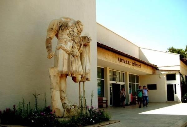 Археологический музей Анталии