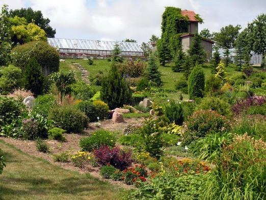 Ботанический сад в Клайпеде