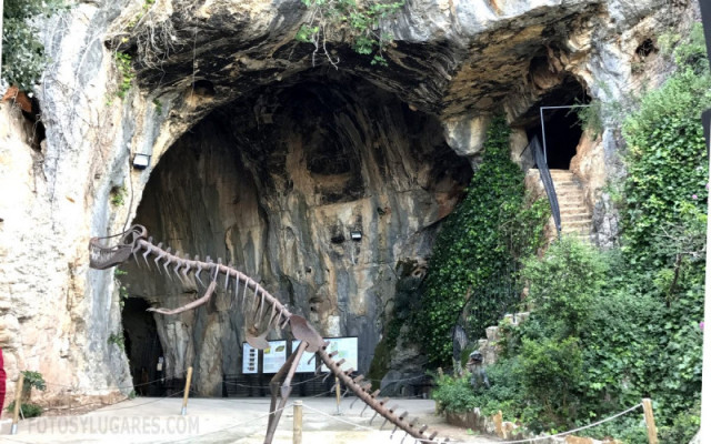 Пещера Cueva de las Calaveras