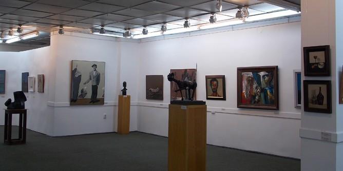 Залы художественной галереи