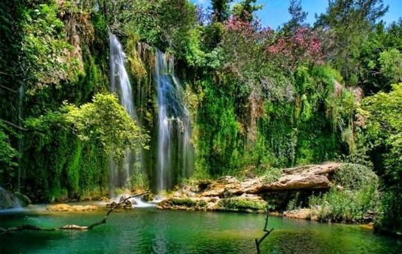 Парк и водопад Куршунлу