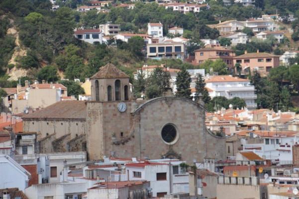 Храм виднеется над Тоссой