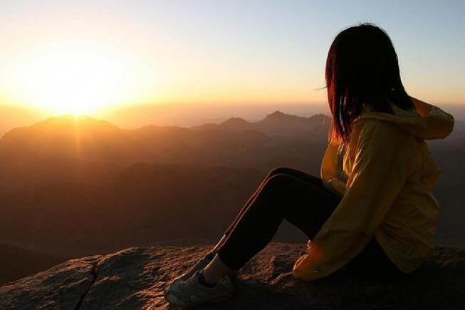 Фото на восходе
